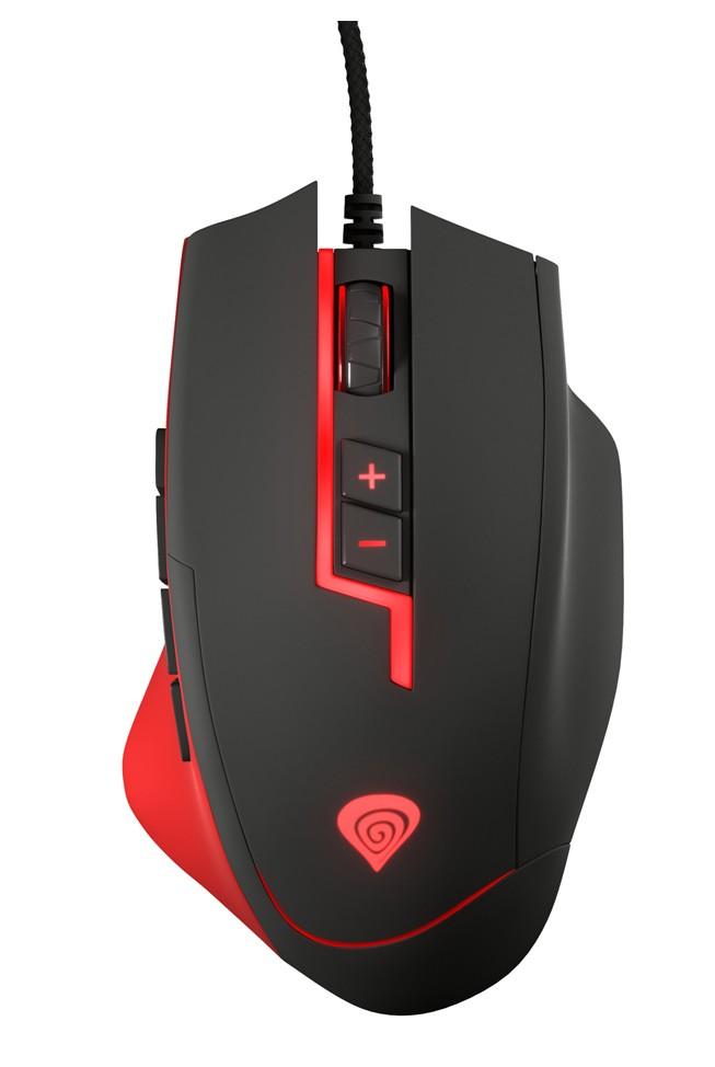 GENESIS GX85 MMO laidinė optinė pelė | 8200 DPI