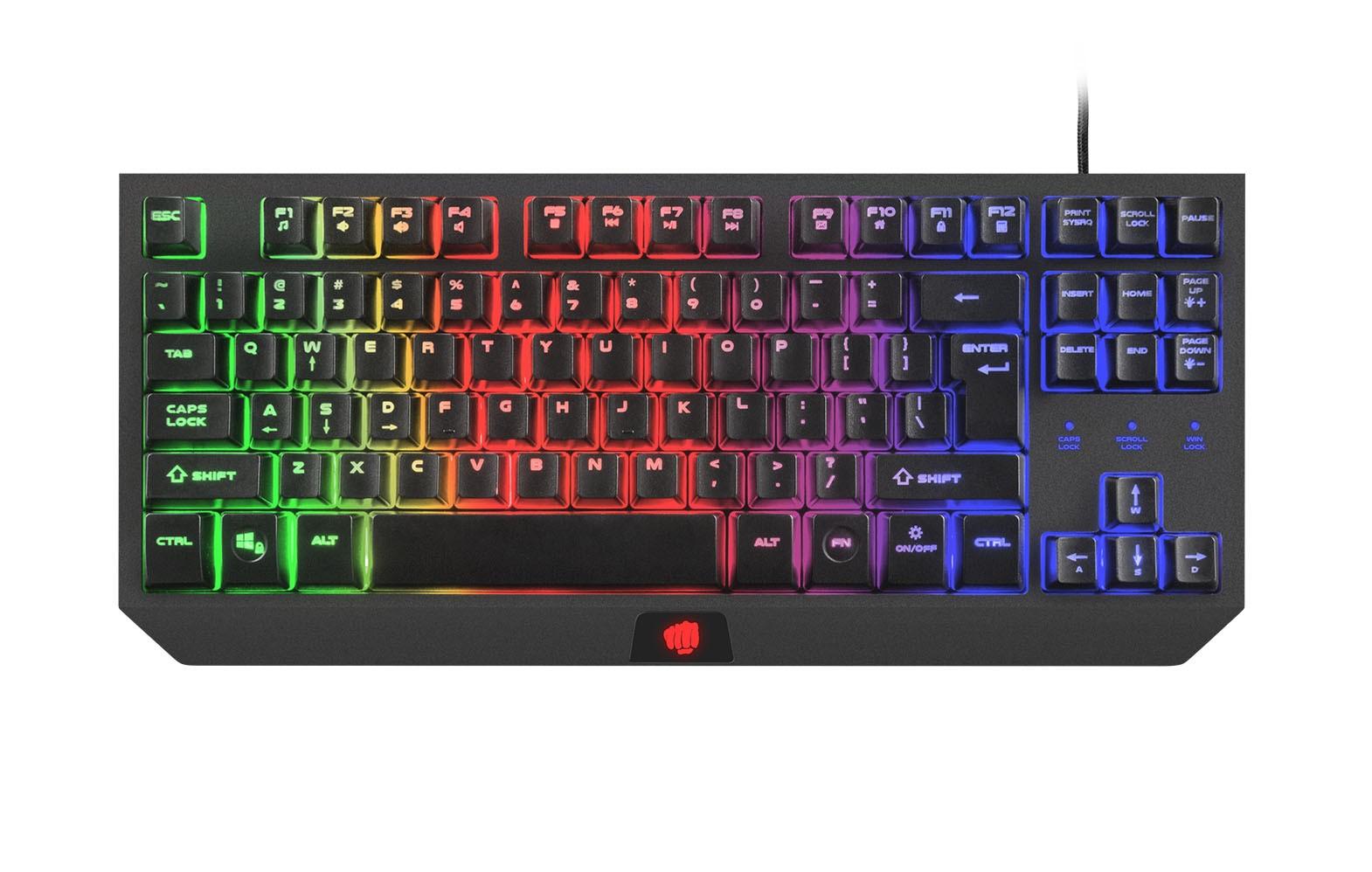 FURY HURRICANE TKL membraninė klaviatūra US