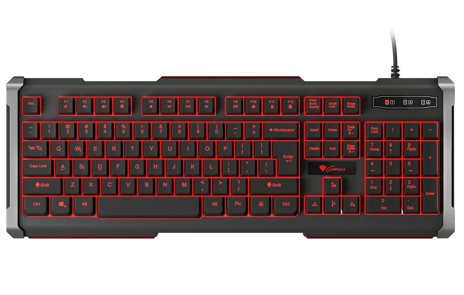 GENESIS RHOD 400 US GAMING KEYBOARD