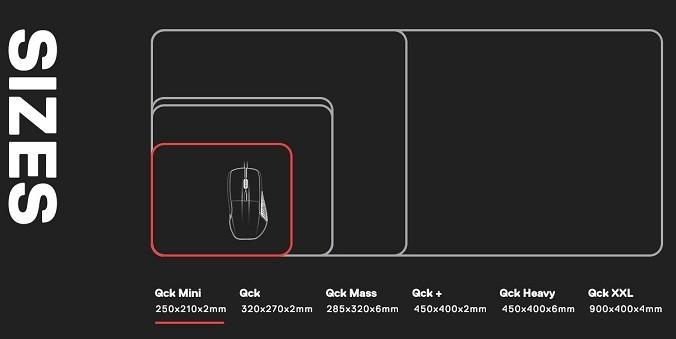 Steelseries QcK mini mousepad