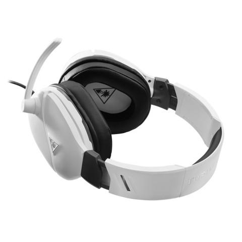 Turtle Beach RECON 200 baltos laidinės ausinės PS4/XBOX ONE/PC| 3.5mm