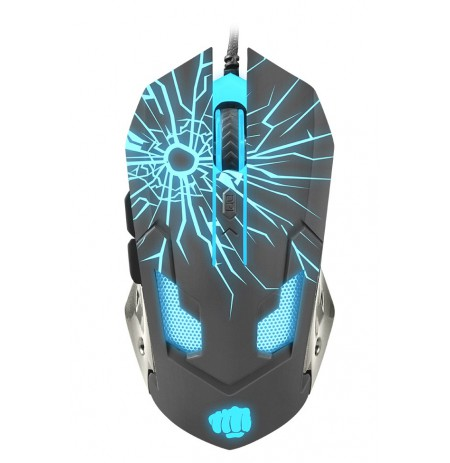 GAMING OPTICAL MOUSE FURY GLADIATOR ILLUMINATED