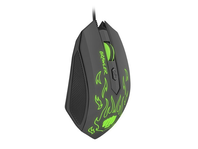 GAMING OPTICAL MOUSE FURY BRAWLER 1600DPI ILLUMINATED