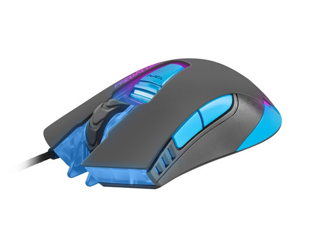 GAMING MOUSE FURY PREDATOR 4800DPI OPTICAL WITH SOFTWARE