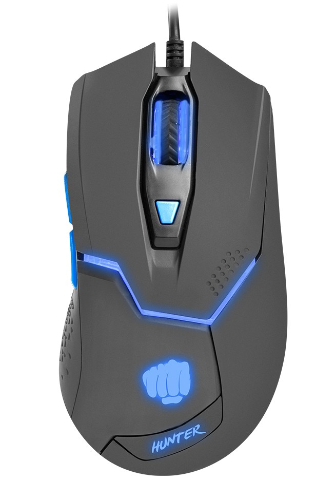 GAMING MOUSE FURY HUNTER 4800DPI OPTICAL WITH SOFTWARE