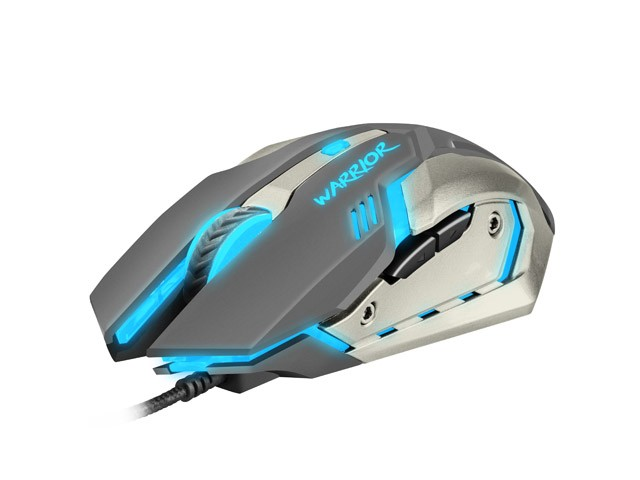 GAMING OPTICAL MOUSE FURY WARRIOR 3200DPI ILLUMINATED