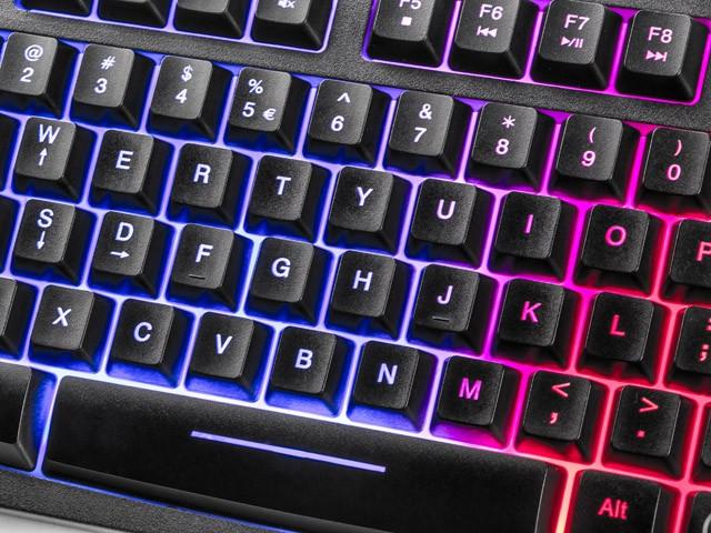 FURY HELLFIRE membraninė klaviatūra US