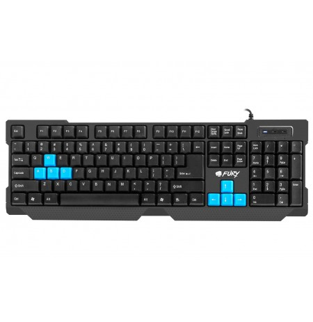 GAMING KEYBOARD FURY HORNET US LAYOUT WITH BACKLIGHT