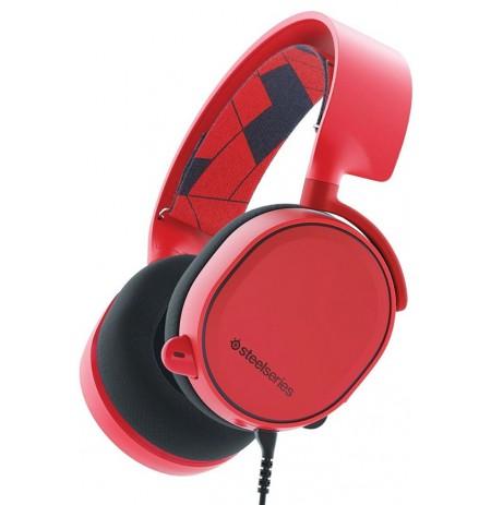 Steelseries Arctis 3 Solar Red žaidimų ausinės