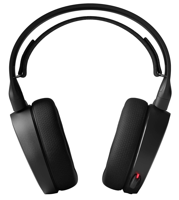 Steelseries Arctis 5 Juodos (2019 Edition) žaidimų ausinės | USB/3.5mm