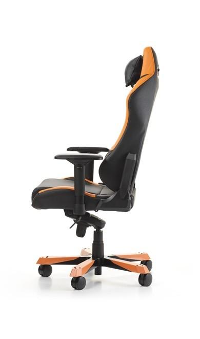 DXRACER IRON SERIES I11-NO oranžinė ergonominė kėdė