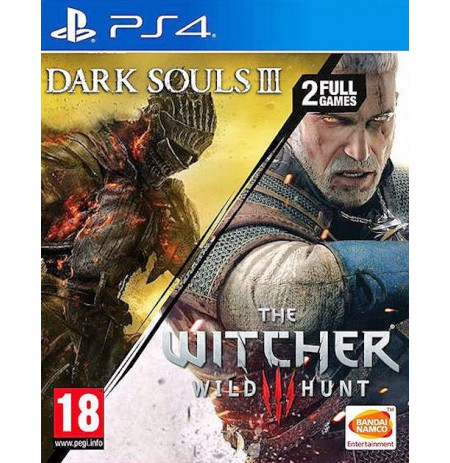 The Witcher 3 Wild Hunt + Dark Souls III PS4