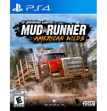 Spintires: MudRunner - American Wilds Edition PS4