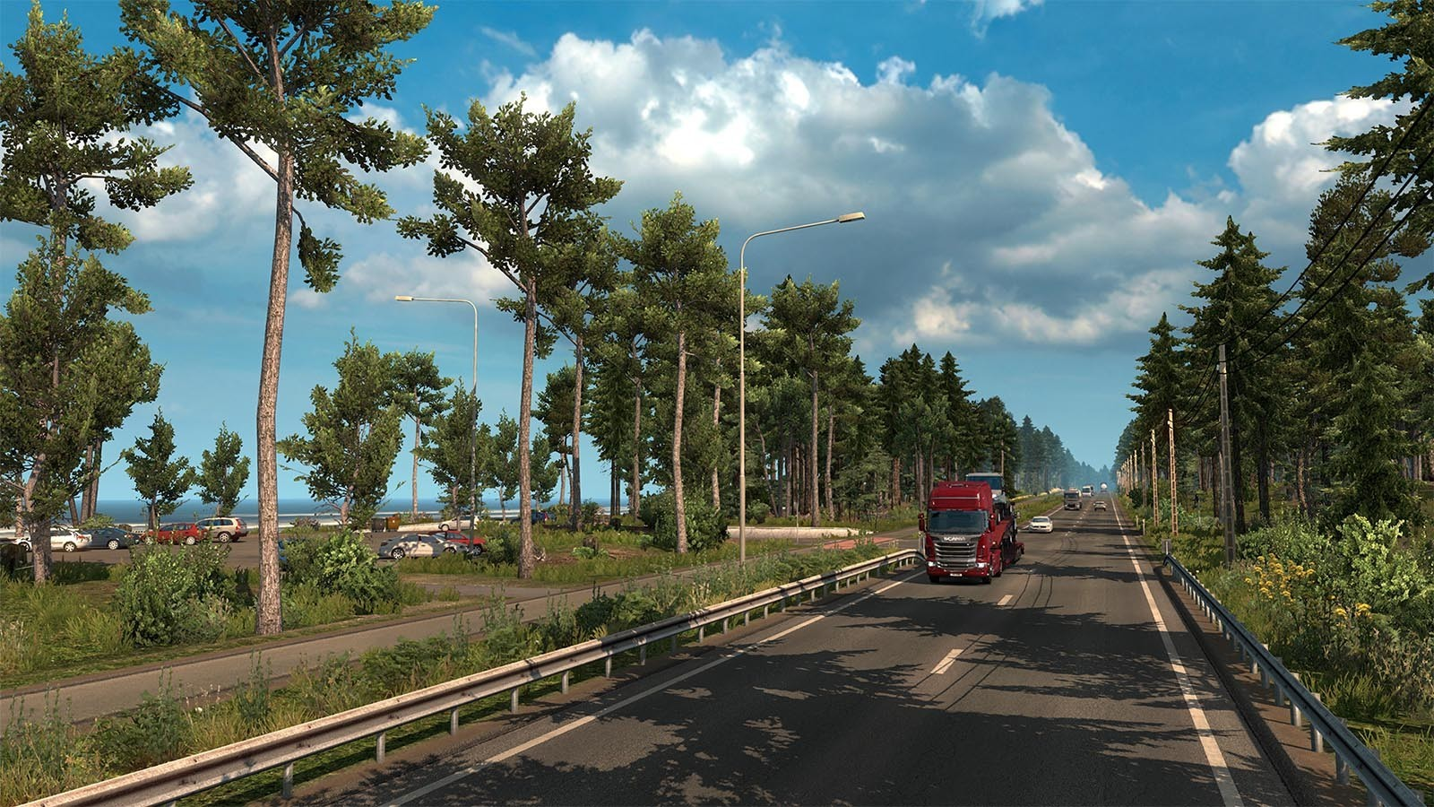 Euro Truck Simulator 2 + Beyond the Baltic Sea Expansion Bundle