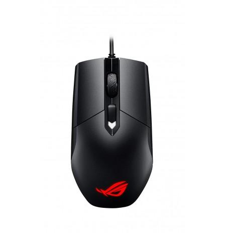 ASUS ROG Strix Impact juoda laidinė žaidimų optinė pelė | 5000 DPI