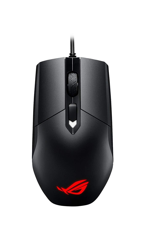ASUS ROG Strix Impact juoda laidinė žaidimų optinė pelė | 5000
