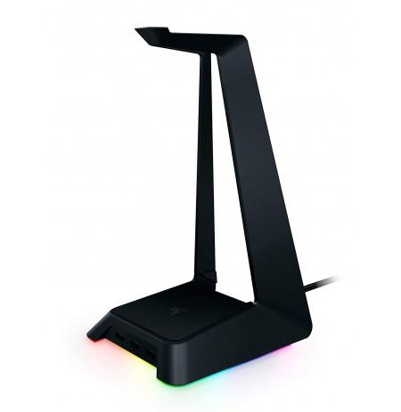 RAZER ausinių stovas su RGB apšvietimu ir USB jungtimis