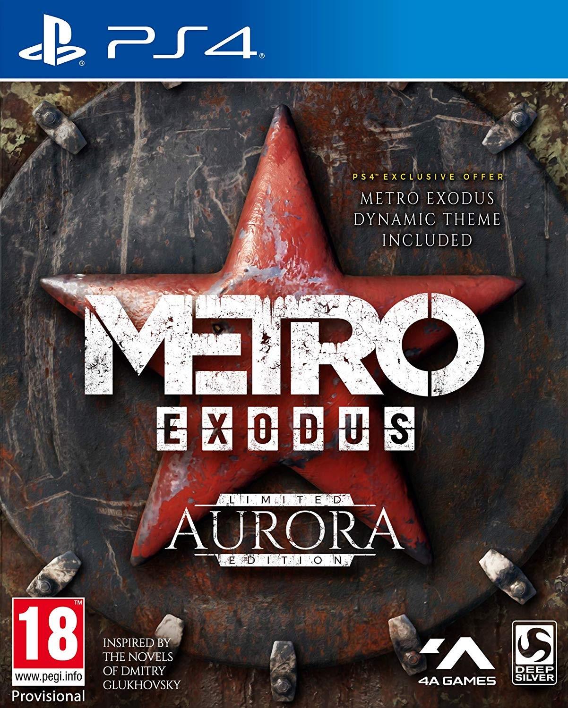 Metro Exodus Aurora Edition PS4