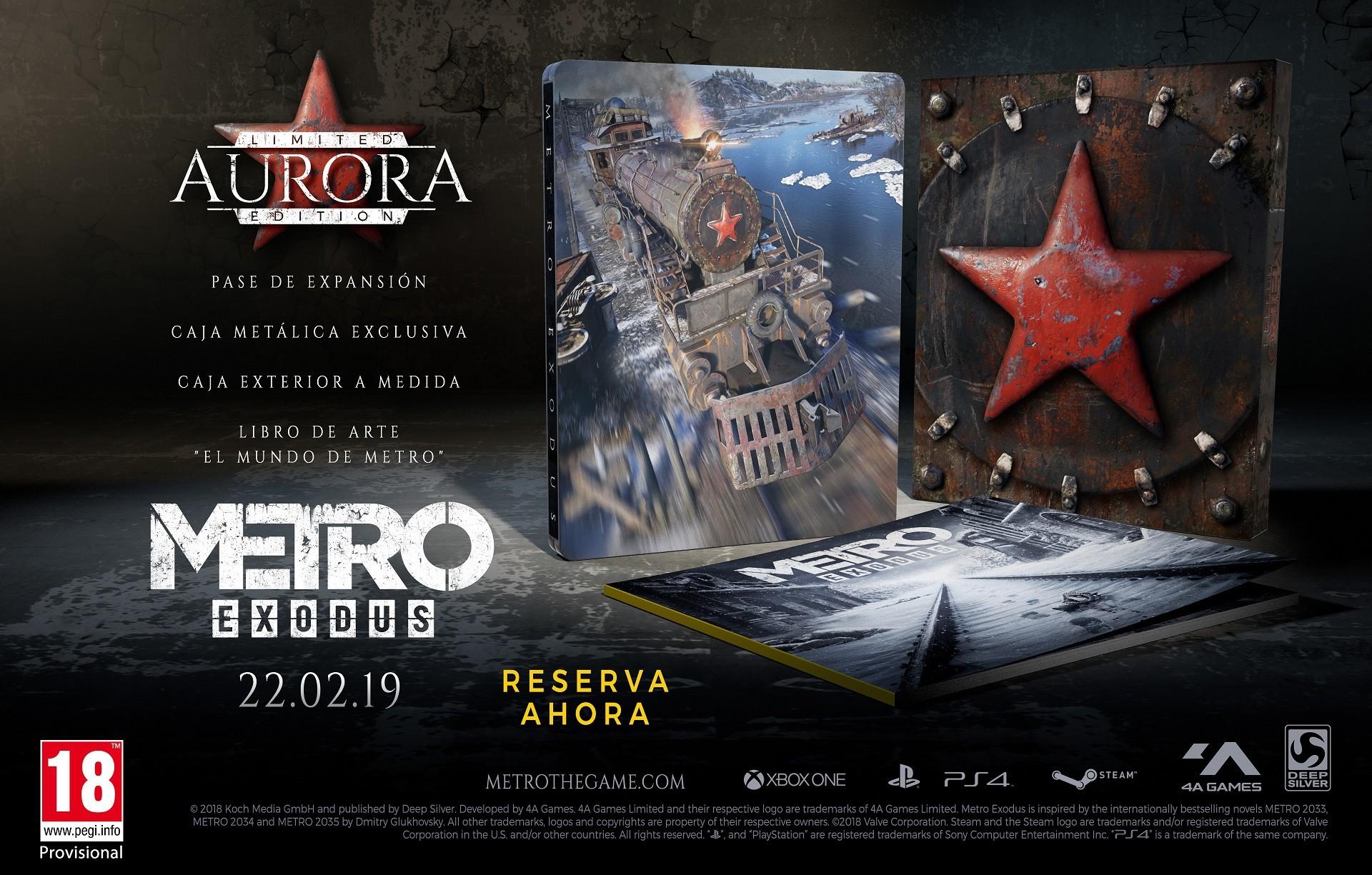 Metro Exodus Aurora Edition