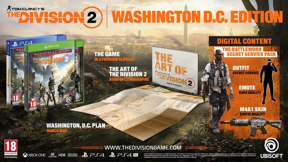 Tom Clancy's The Division 2 Washington, D.C. Edition