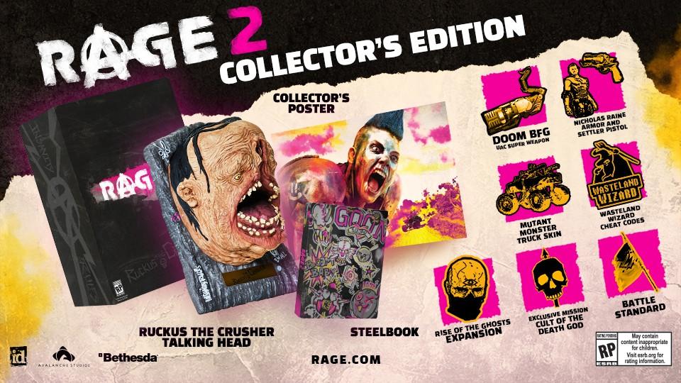 Rage 2 Collectors Edition