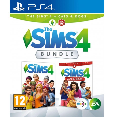 Sims 4 + Cats & Dogs PS4