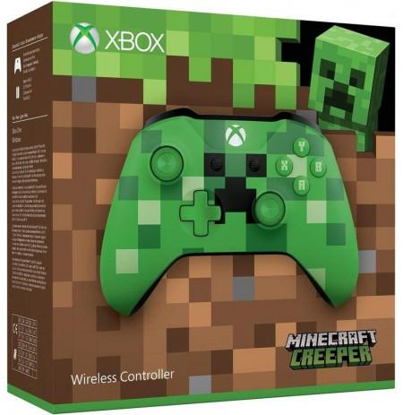 Xbox One belaidis valdiklis (Minecraft Creeper)