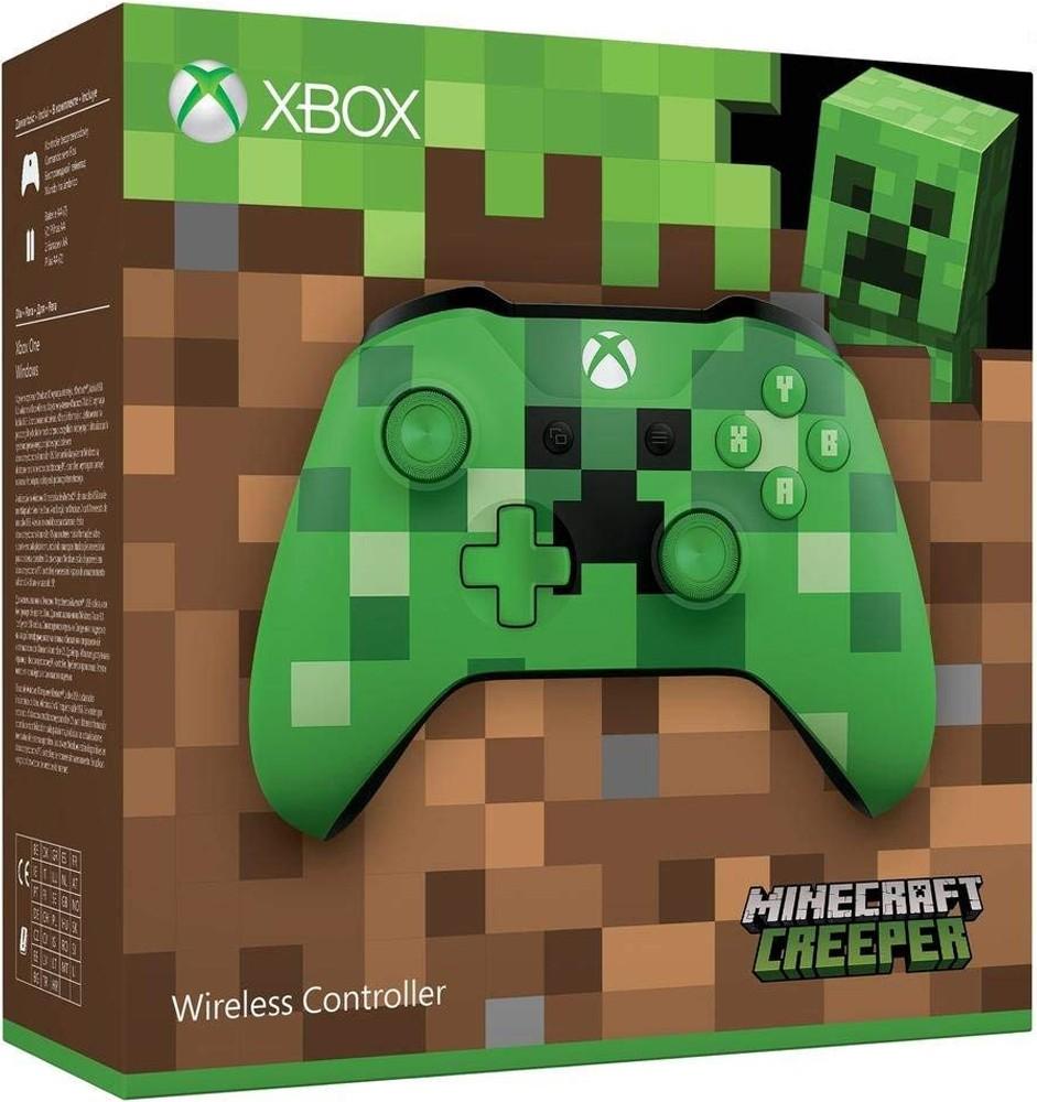 Xbox One belaidis valdiklis su 3.5mm jungtimi (Minecraft