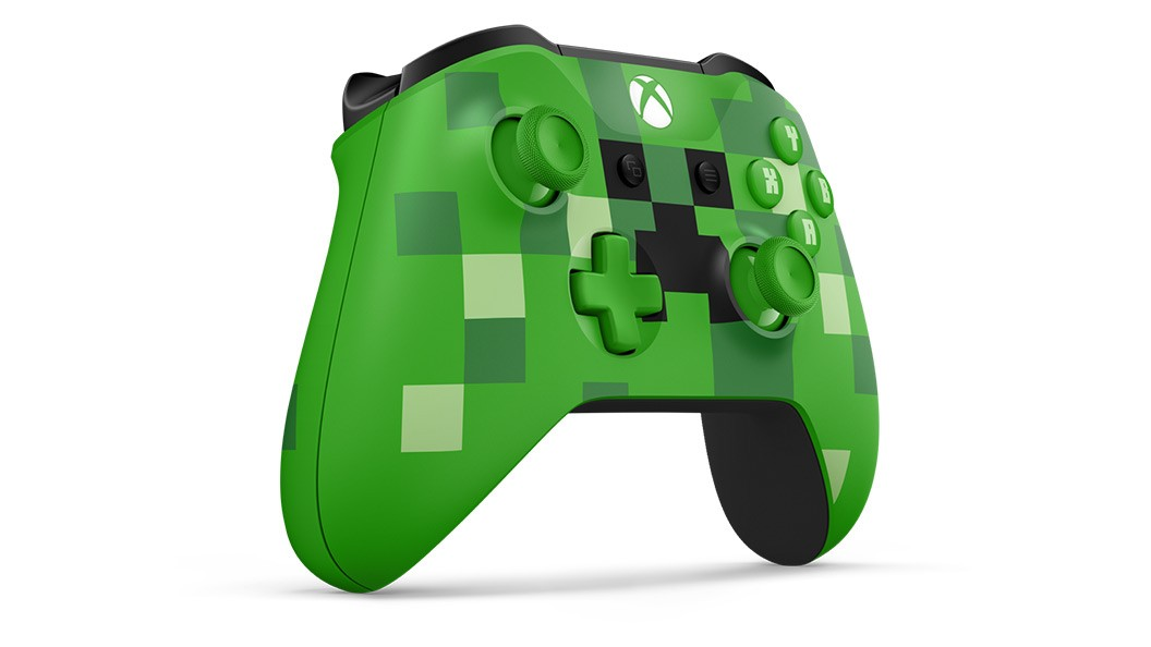 Xbox One belaidis valdiklis su 3.5mm jungtimi (Minecraft Creeper)