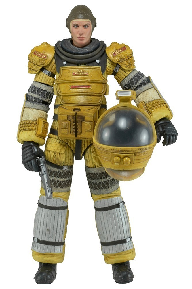 ALIENS ISOLATION - SERIES 6 AMANDA RIPLEY (SPACESUIT) 18cm statula