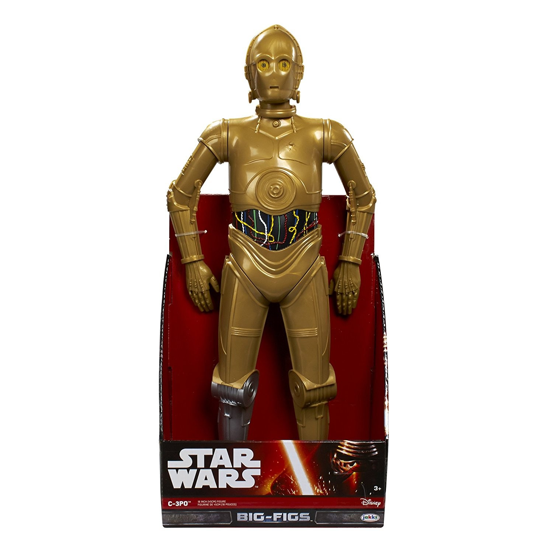 STAR WARS C-3PO GOLD LARGE ACTION FIGURE