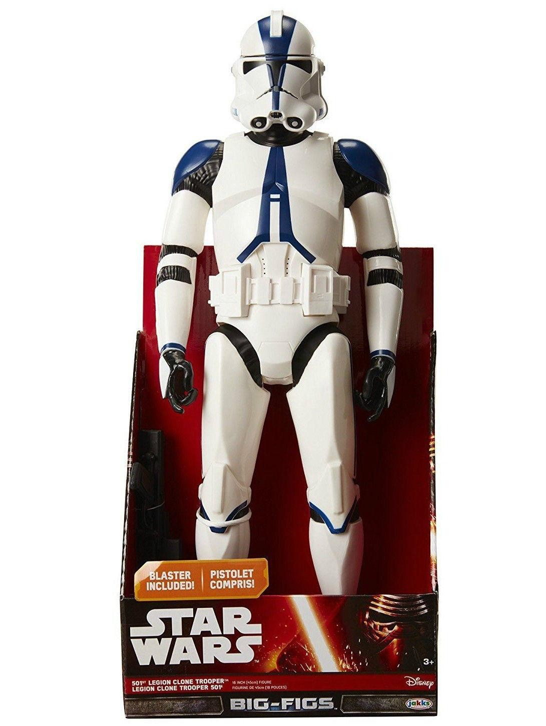 STAR WARS CLONE TROOPER LARGE ACTION FIGURE