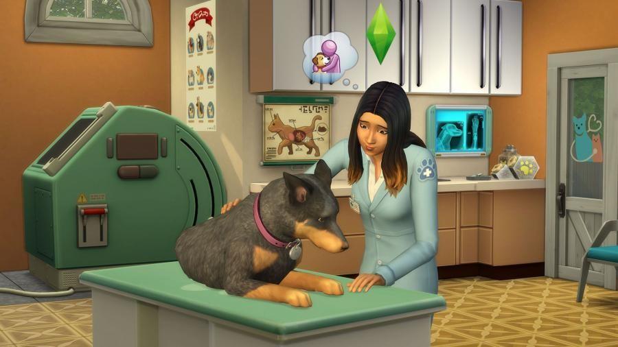 Sims 4 + Cats & Dogs