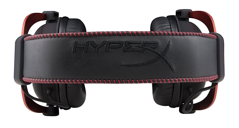 HyperX Cloud II Red laidinės ausinės 7.1   USB/3.5mm