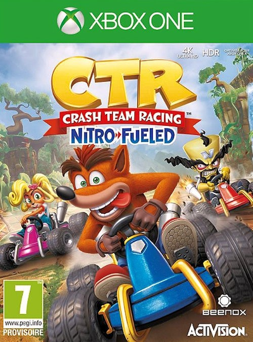Crash Team Racing Nitro Fueled XBOX