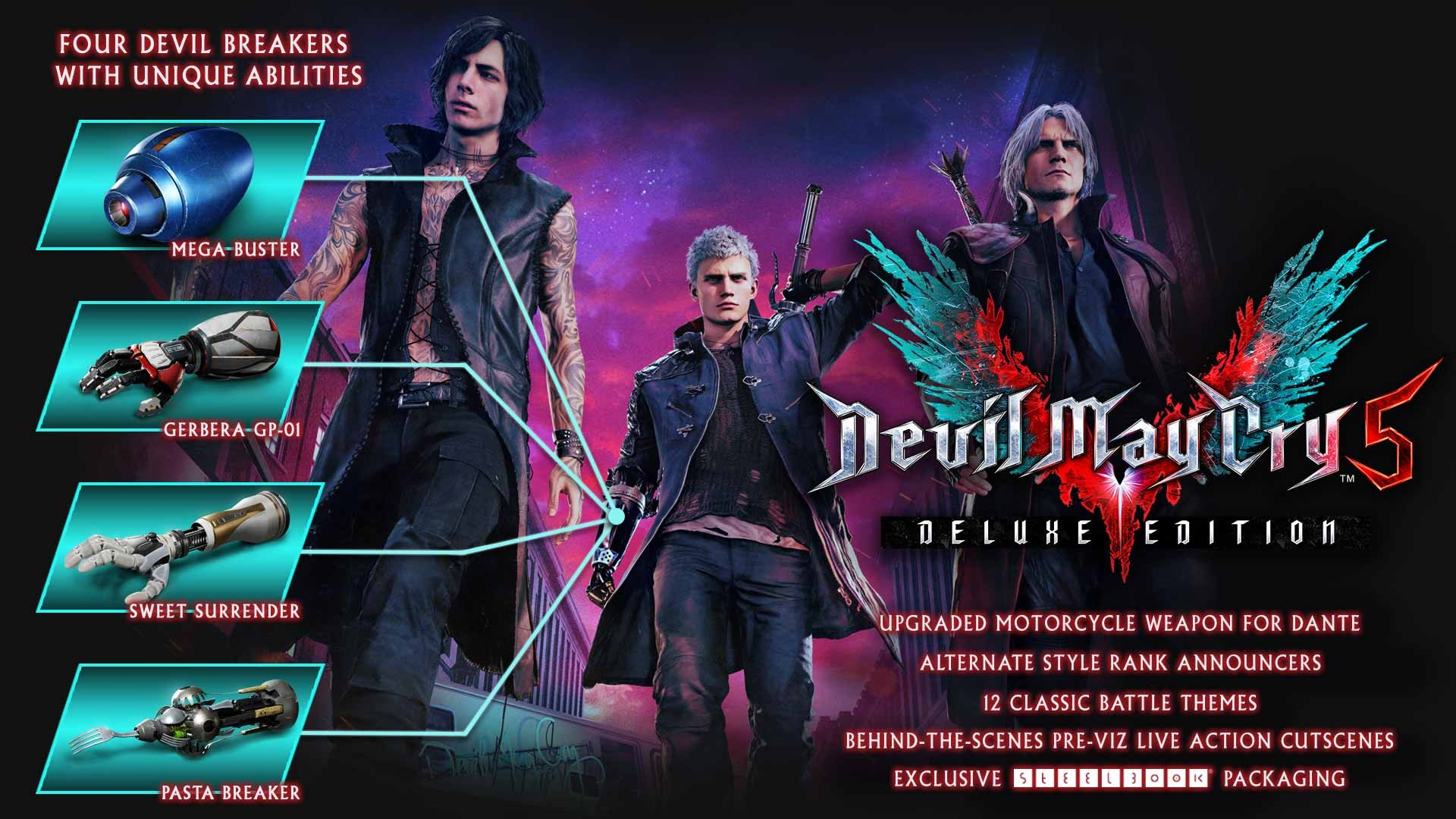 Devil May Cry V Deluxe Edition Steelbook