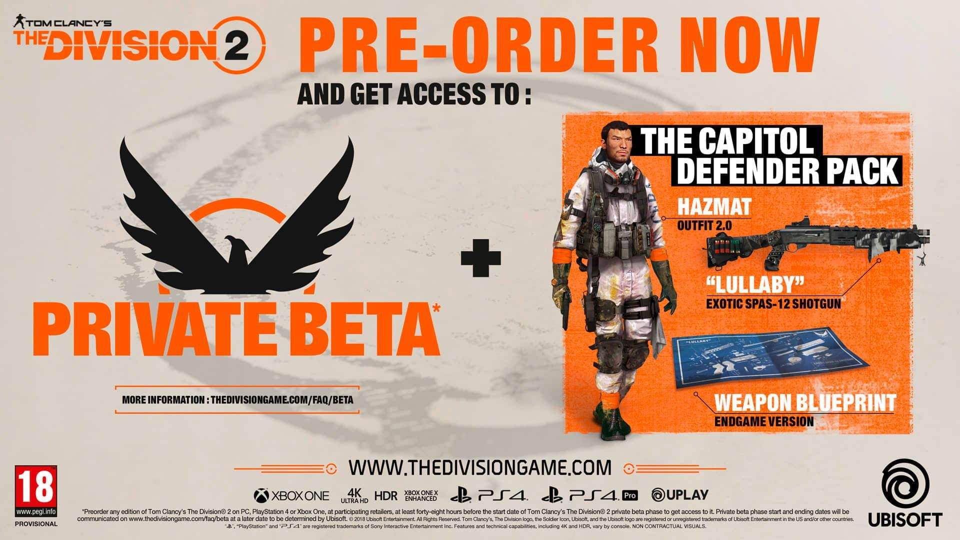 Tom Clancy's The Division 2 The Dark Zone Edition