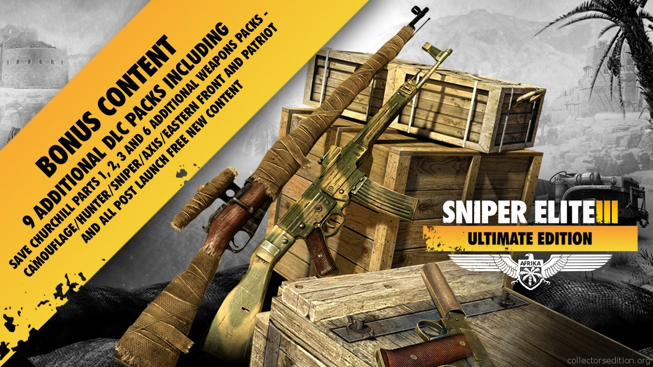 Sniper Elite 3 Ultimate Edition