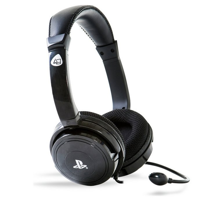 4Gamers PRO4-40 stereo gaming headset black | 3.5mm