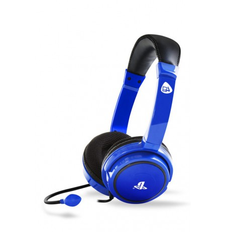 4Gamers PRO4-40 stereo gaming headset blue| 3.5mm