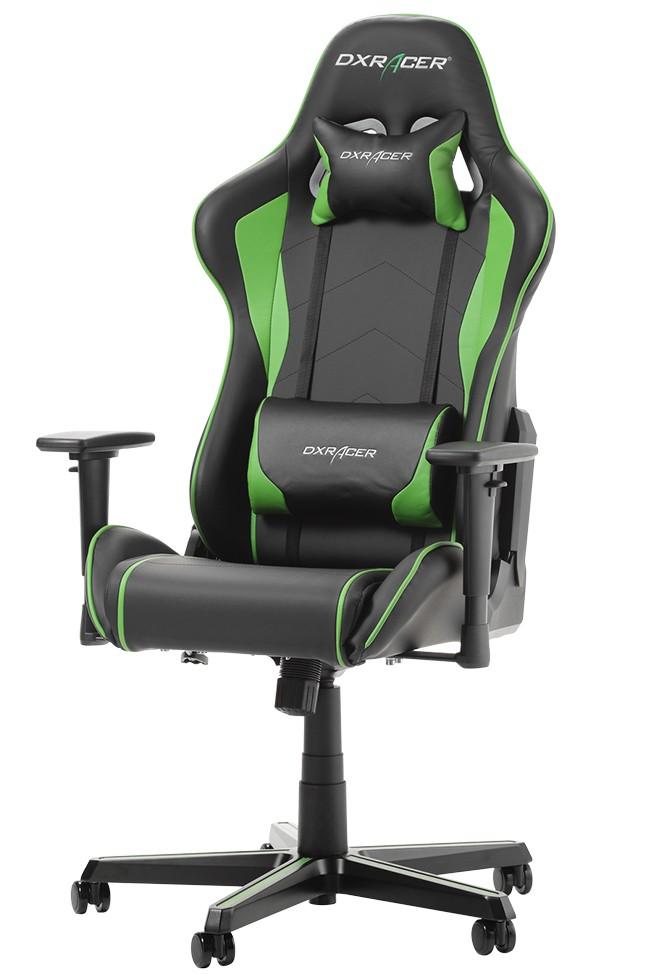 DXRACER FORMULA SERIES F08-NE žalia ergonominė kėdė