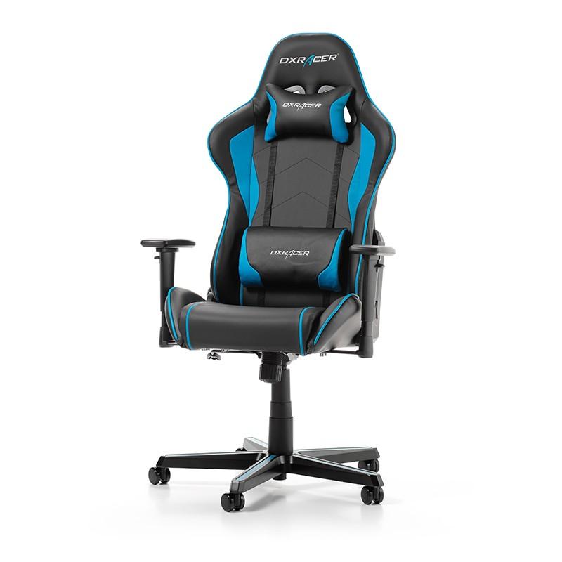 DXRACER FORMULA SERIES F08-NB mėlyna ergonominė kėdė