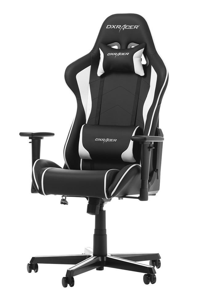 DXRACER FORMULA SERIES F08-NW balta ergonominė kėdė