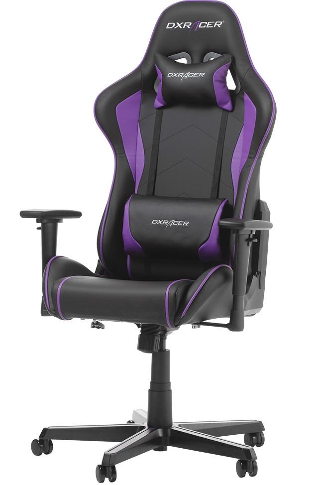 DXRACER FORMULA SERIES F08-NV violetinė ergonominė kėdė