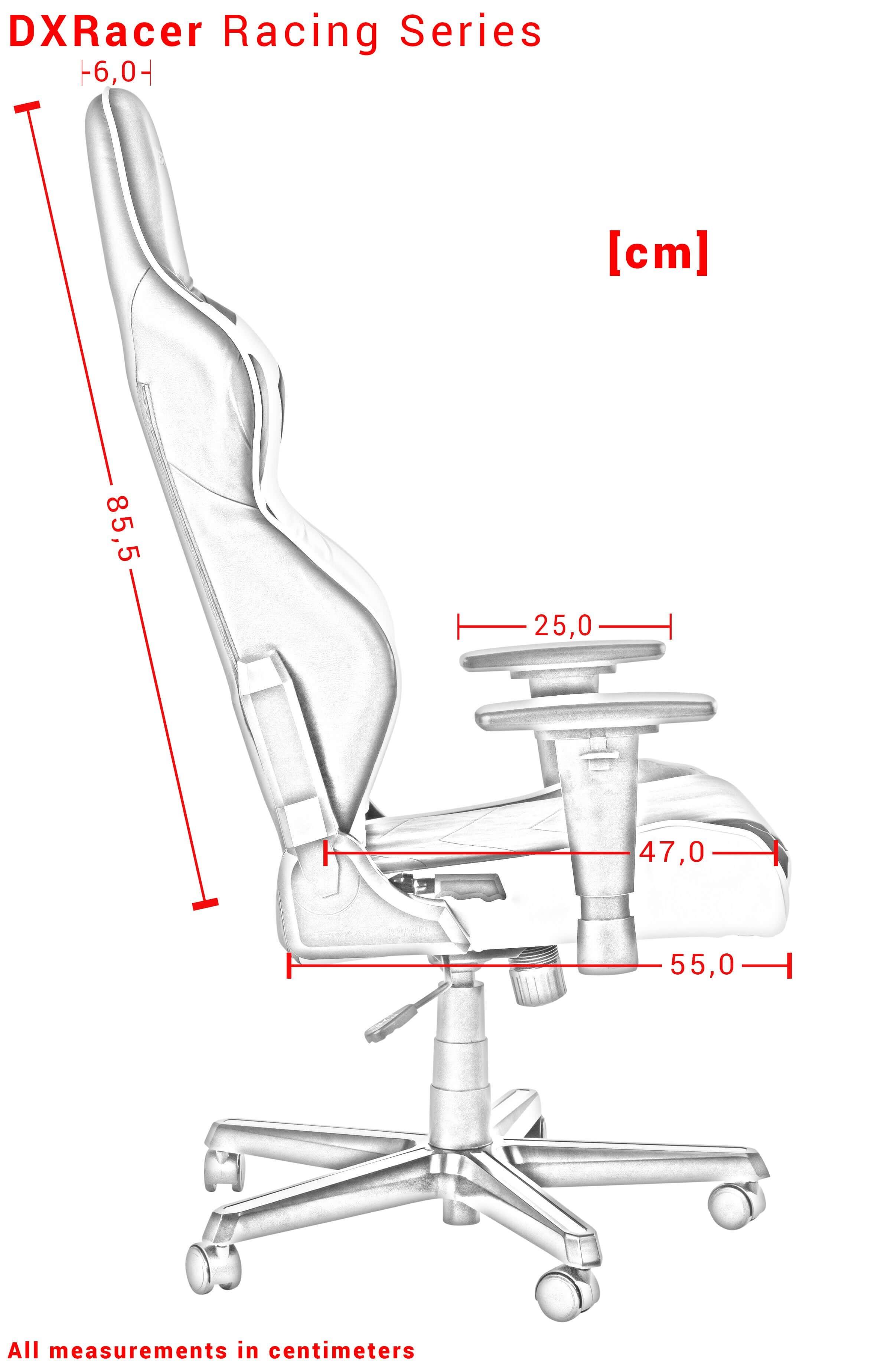 DXRACER RACING SERIES PLAYSTATION ergonominė kėdė
