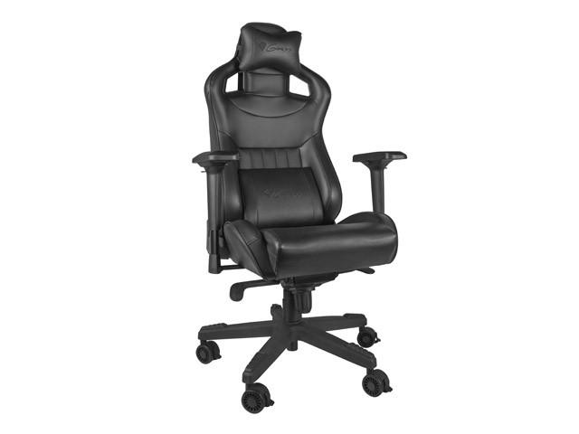GENESIS NITRO 950 juoda ergonominė kėdė