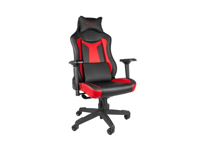 GENESIS NITRO 790 juoda raudona ergonominė kėdė