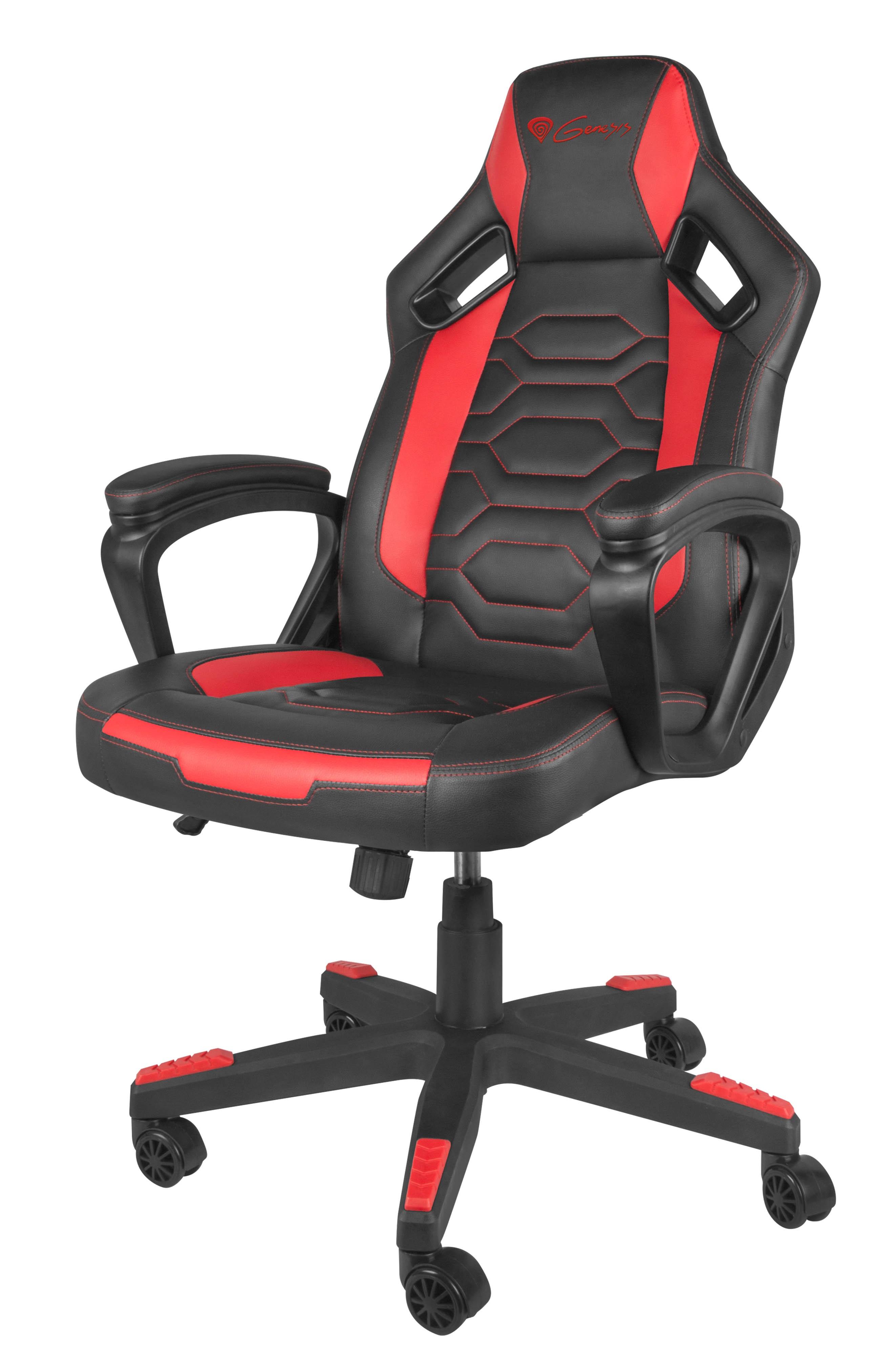 Buy GAMING CHAIR GENESIS NITRO 370 RED/BLACK