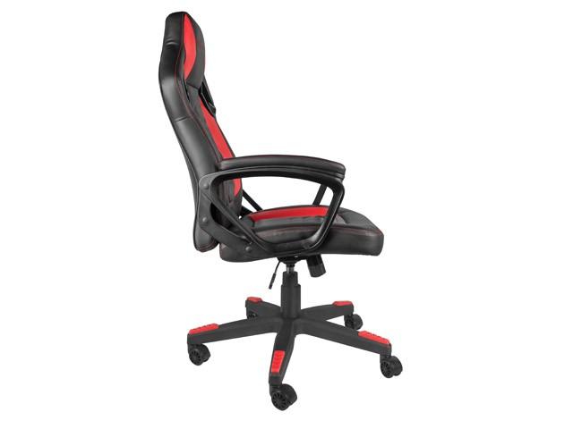 GENESIS NITRO 370 juoda raudona ergonominė kėdė