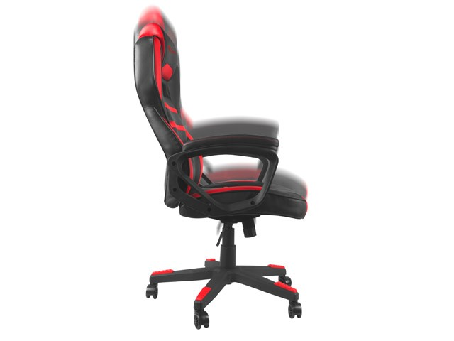 (EKSPOZICINĖ) GENESIS NITRO 350 juoda raudona ergonominė kėdė
